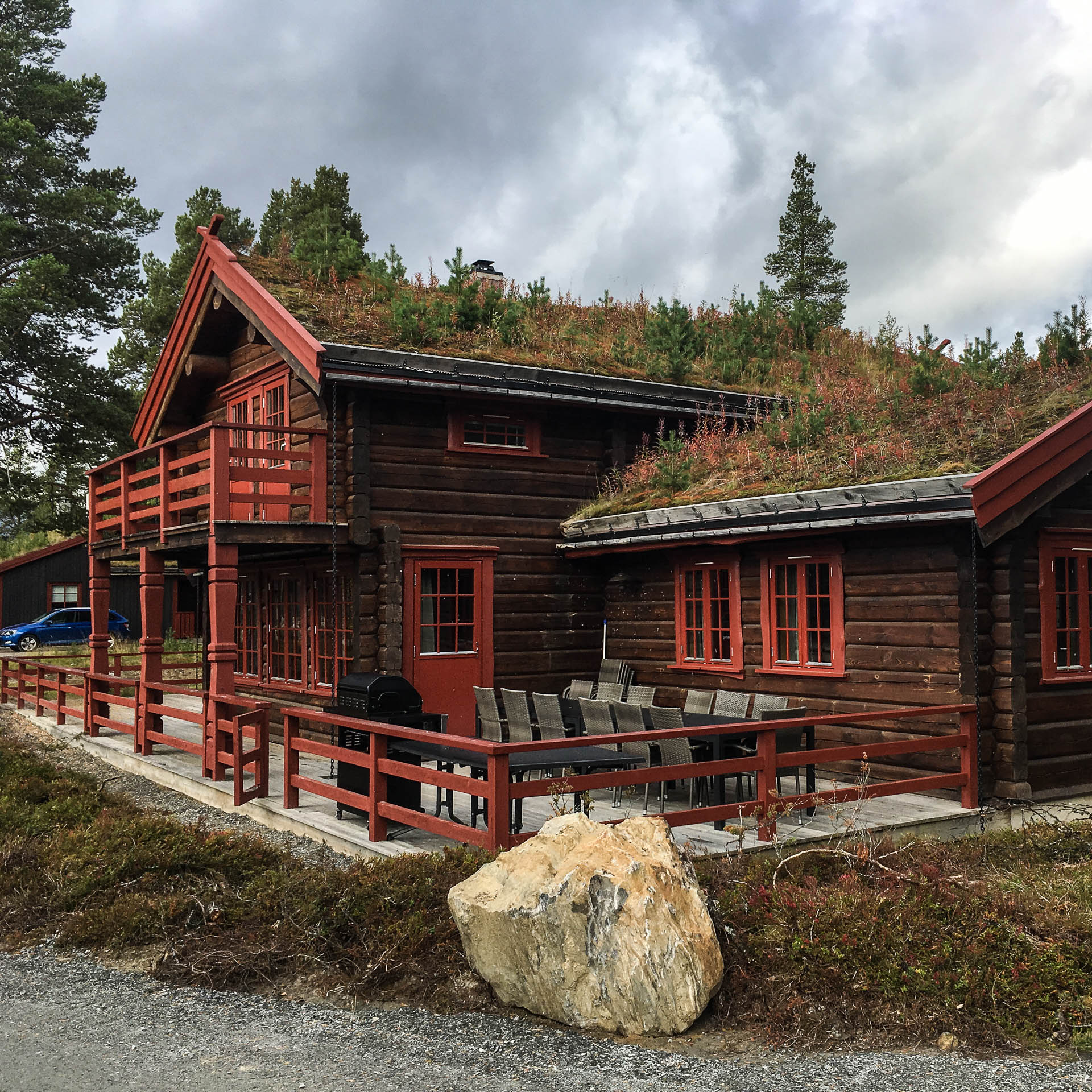 Log house in Savalen