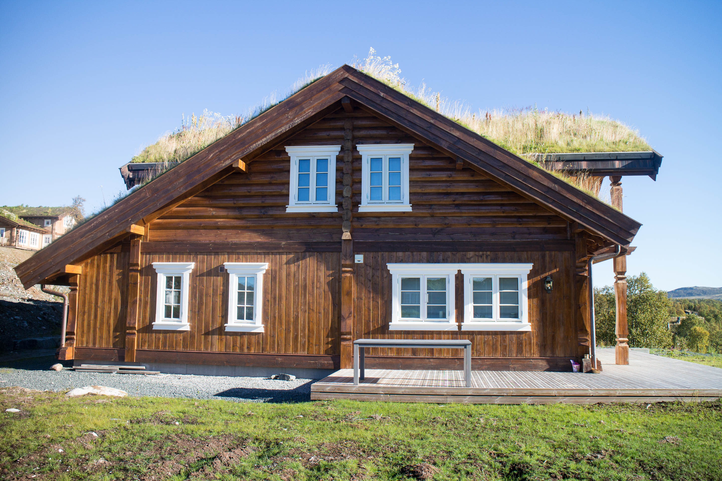 Exterior: Log And Timber Frame House Manufacturing