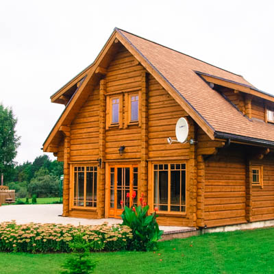 Timber Frame House Scandinavia